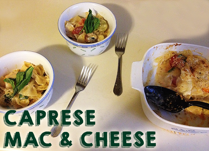Caprese Mac & Cheese | Hard Parade