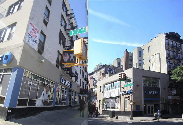 EV Grieve: 2 East Village Chase Bank branches are closing for good ...