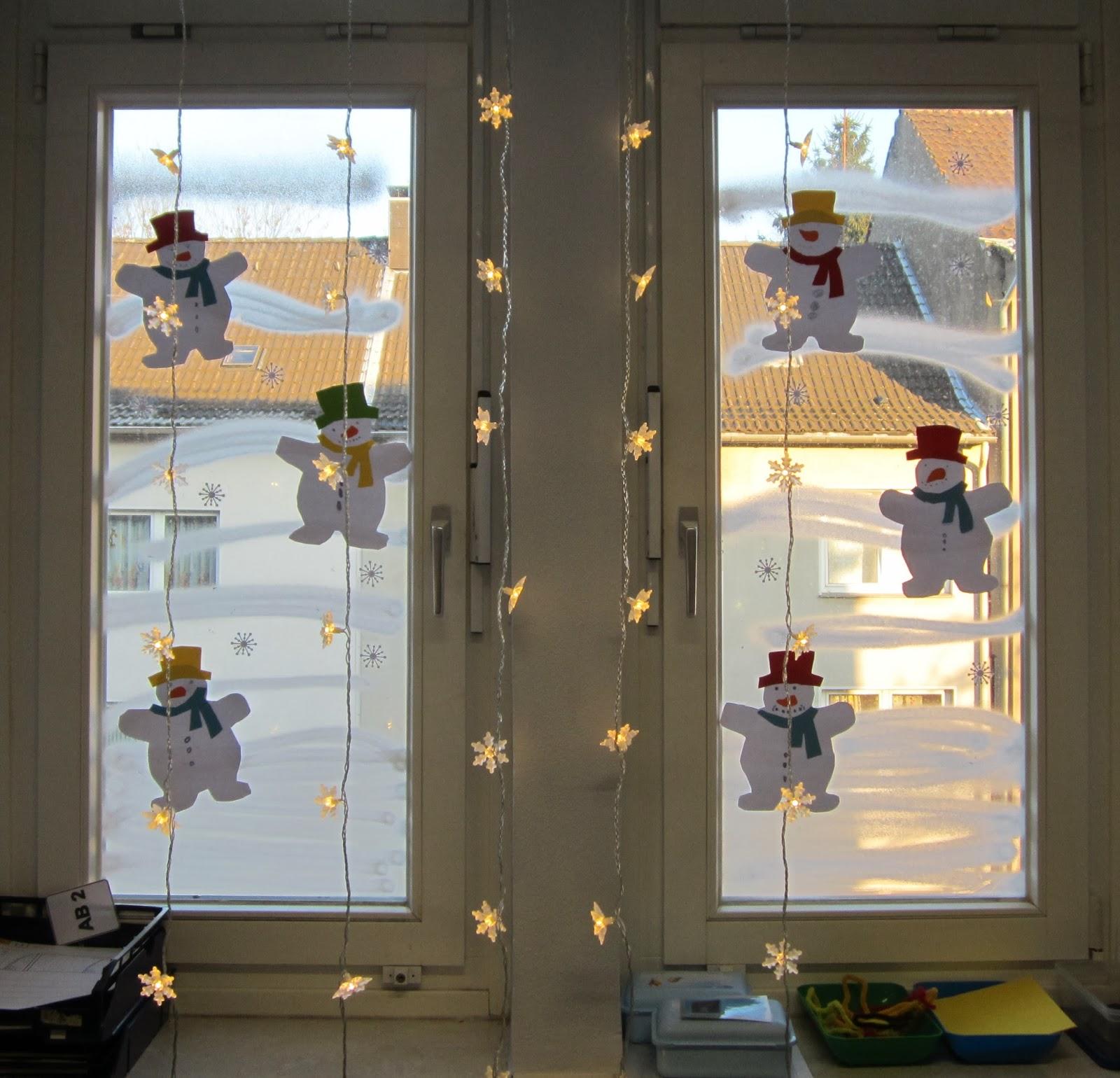 Kasilou winterliche fensterdeko for Fensterdeko winter