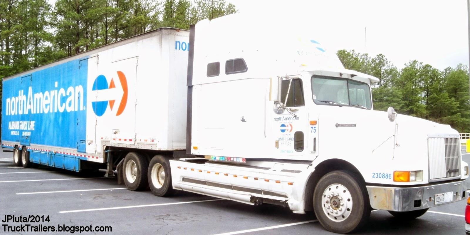 TRUCK TRAILER Transport Express Freight Logistic Diesel Mack Peterbilt Kenworth Volvo ...
