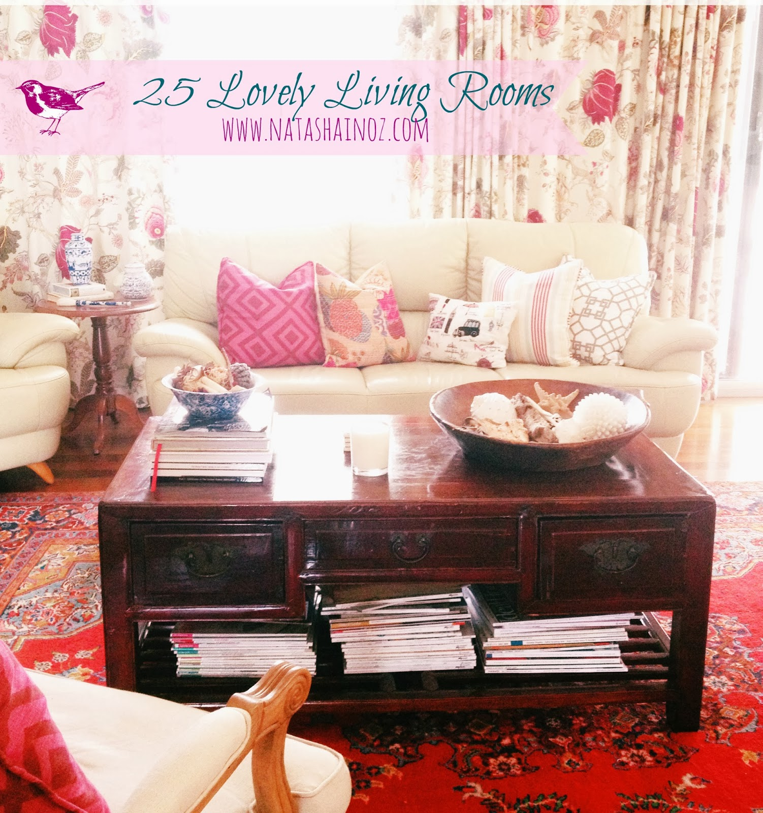 25 Lovely Living Rooms