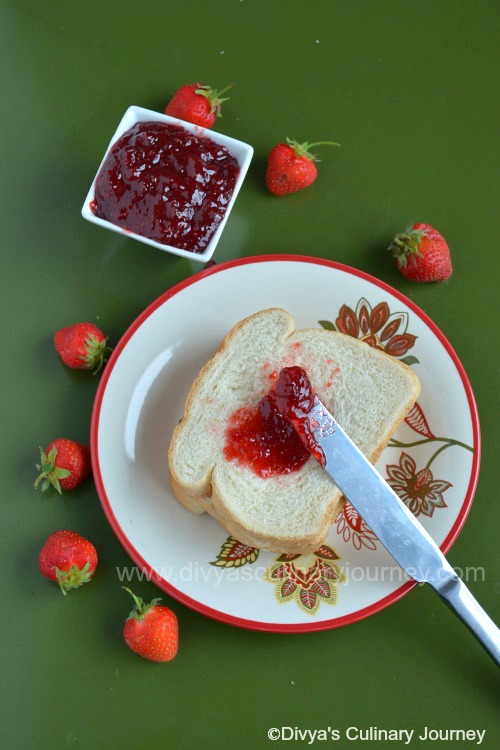 how to make strawberry jam without pectin