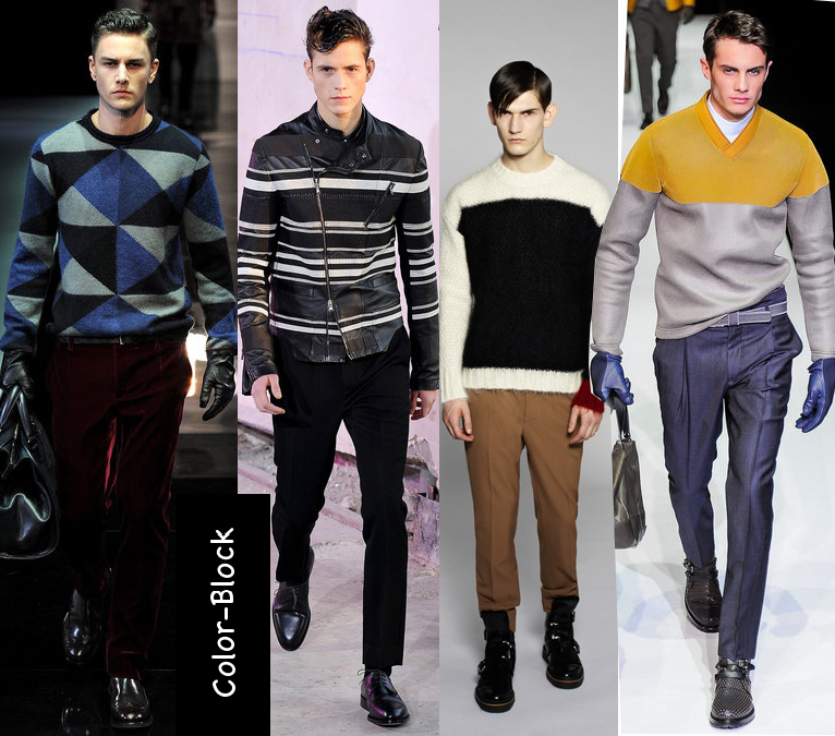 mens fall 2013 graphic sweaters