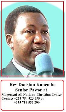 Rev Dunstan Kanemba