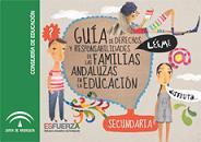 Guía de derechos y responsabilidades de las familias andaluzas en la educación: Secundaria