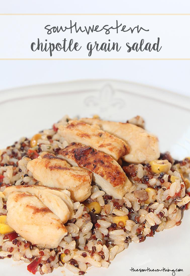 Southwestern Chipotle Grain Salad Recipe