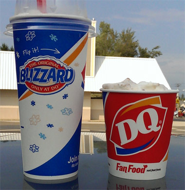 On Second Scoop: Ice Cream Reviews: Dairy Queen Choco ...