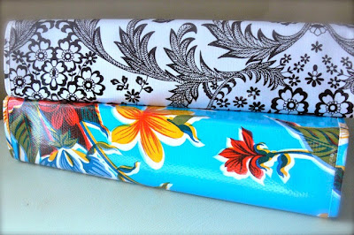 oilcloth covers for 3-ring binders