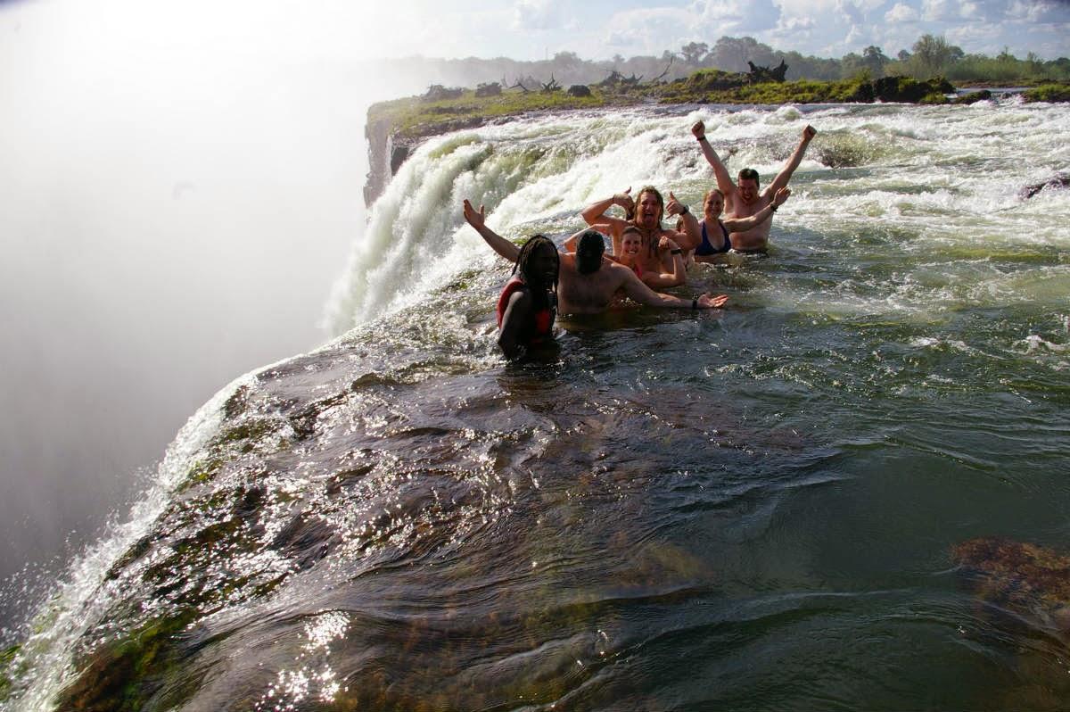 Paradise chaser for Piscina del diablo en zambia