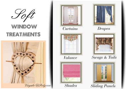 Simple Interior Concepts Soft Window Treatments Basics of
