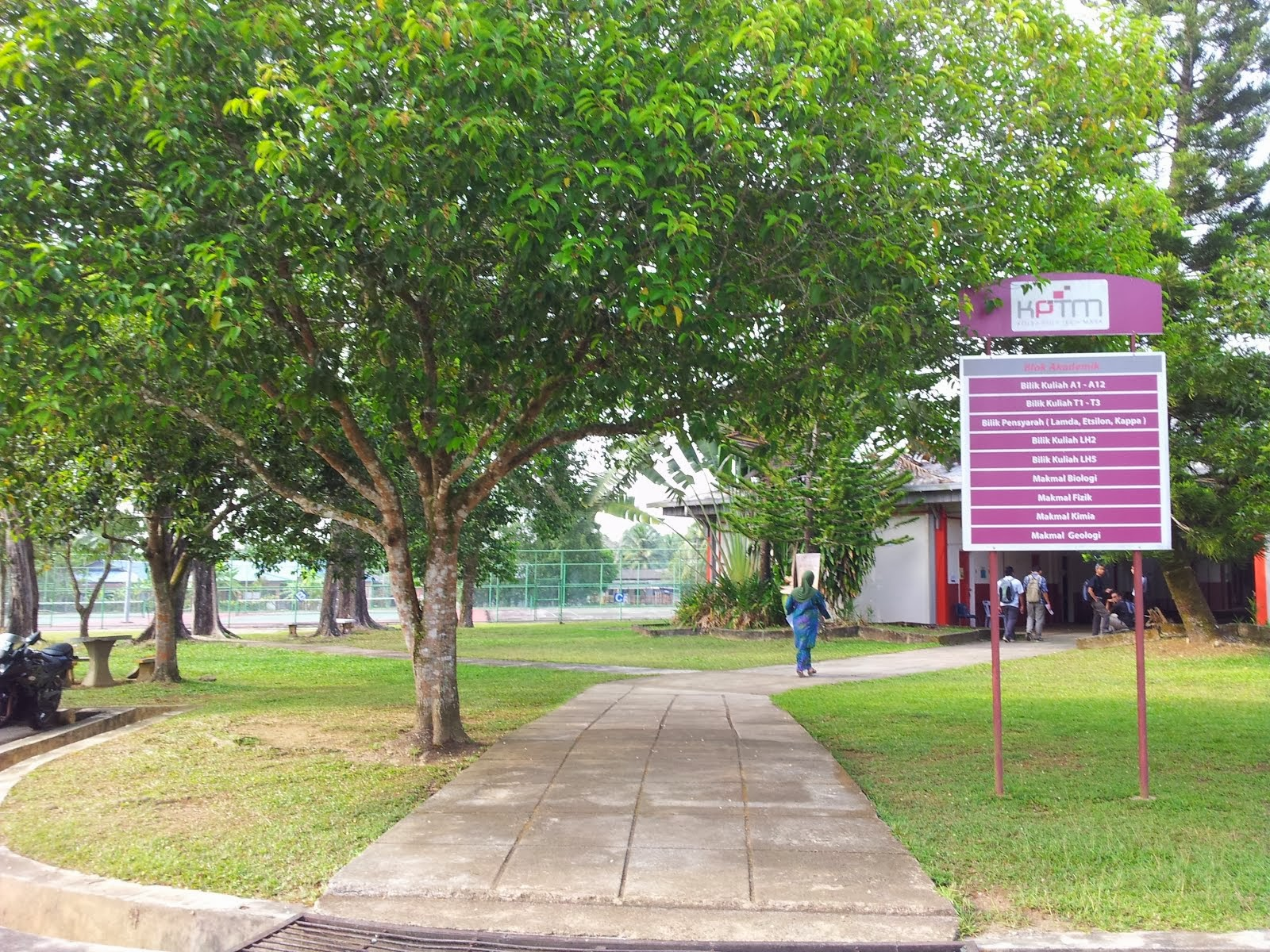Pathway Leading To Classrooms