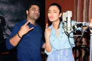 Vijay and Shruti to sing in Puli