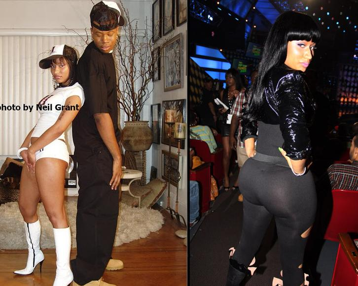 nicki minaj booty dance. nicki minaj fat ooty pics.