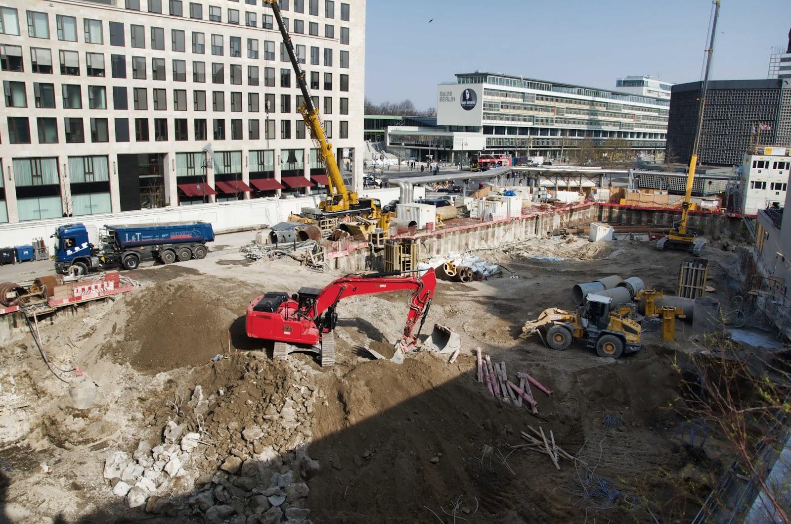 Berliner Baustellen 0287 Baustelle Upper West Hotel