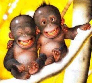 La alegría es tan grande, que sólo te darás cuenta de ellas cuando rias.