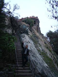 Escadarias do Cerro Santa Lucía