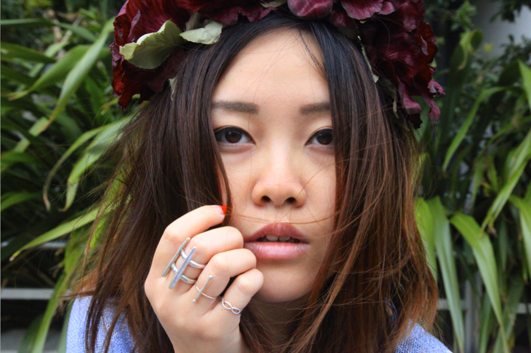K is for Kani flower crown and etsy rings on epique