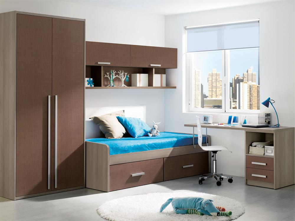 Variedad de dormitorios infantiles a todo color for Dormitorios juveniles modernos de diseno
