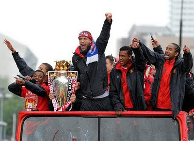 Manchester United Champions Barclays Premier League Parade