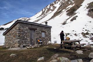 Cabana de Campcardós en el valle de Campcardós, Porta.