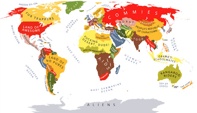 Global stereotypes according to Americans - 2012