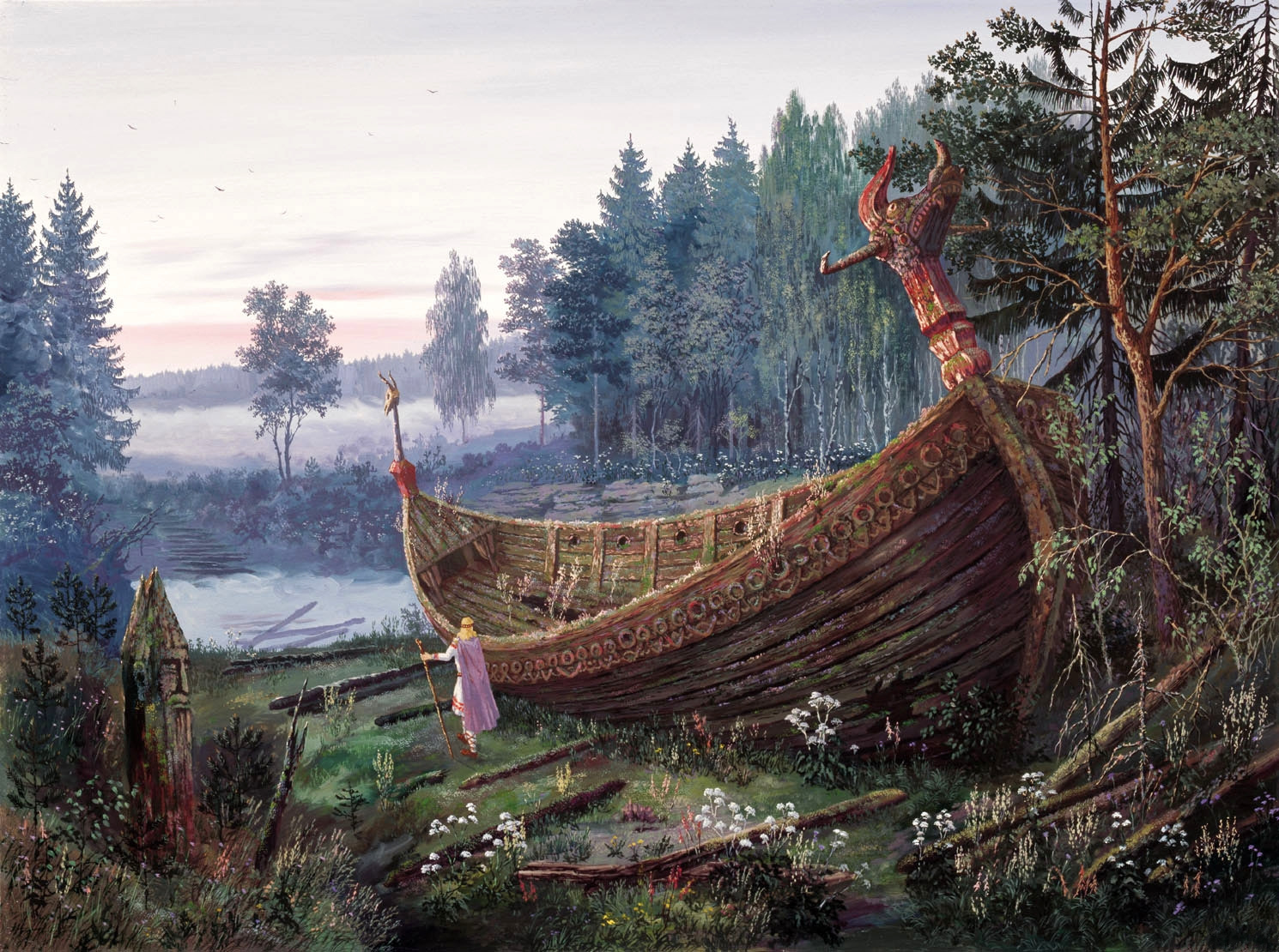 Neo Polytheist: The Religion Of The Rus – Viking Heathens