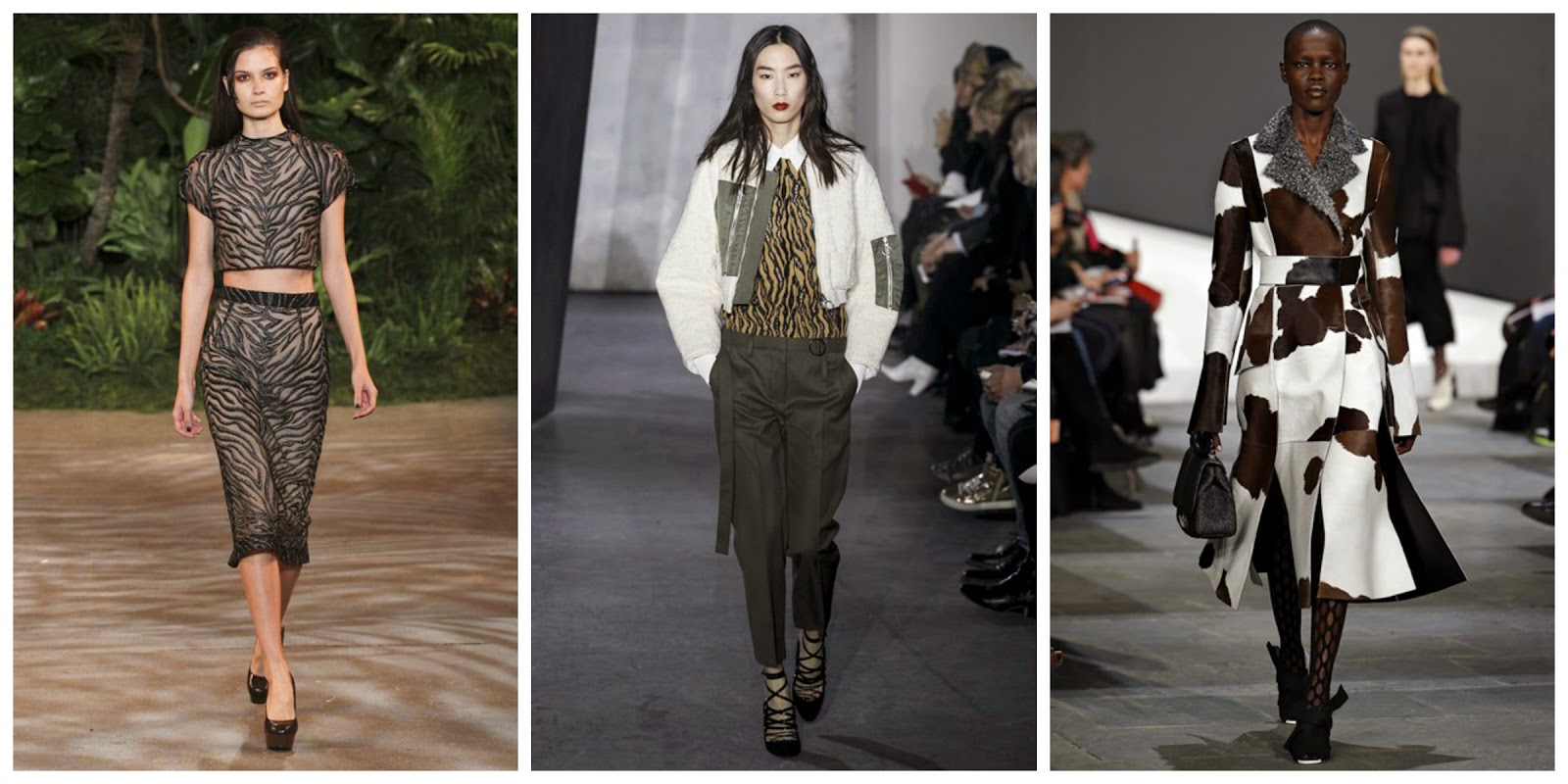 animal print aw15 nyfw trend report blogger fashion faux