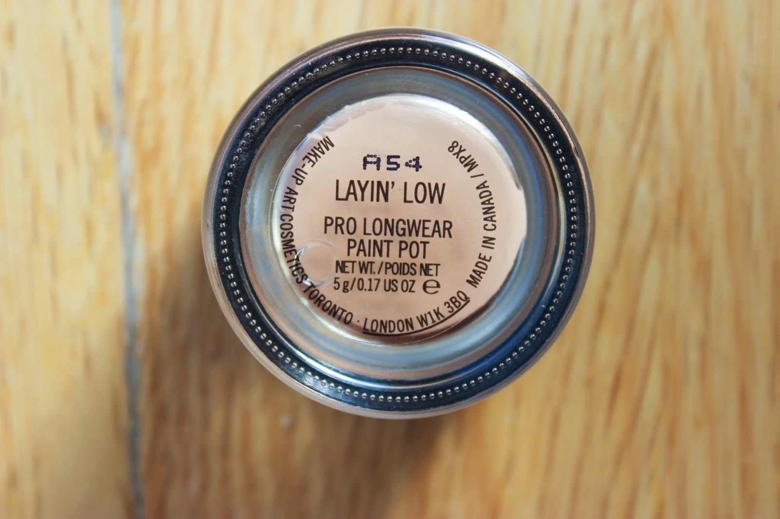 MAC Pro Longwear Paint Pot Layin' Low DiscoveriesOfSelf Blog NC50 Beauty Bloggers
