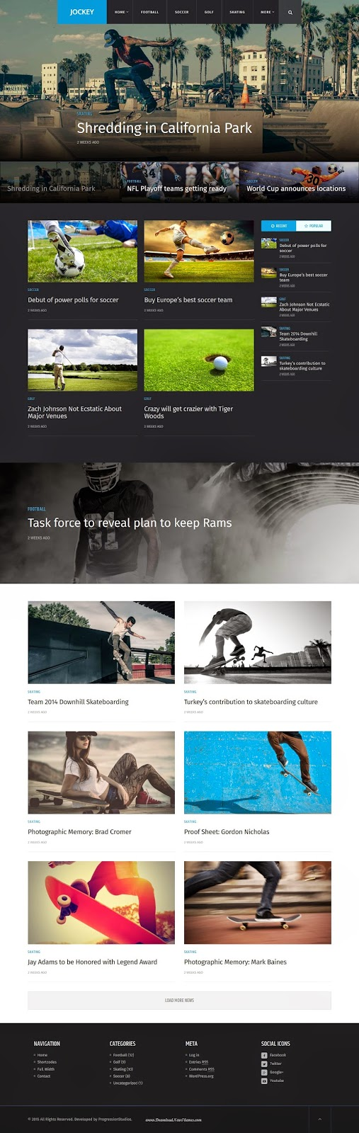 Premium Magazine and News WP Theme 2015