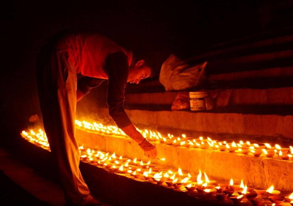 Diwali Indians Most Beautiful Festiwal Digital HD Photos