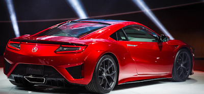 2016 Acura NSX Release Date look lite