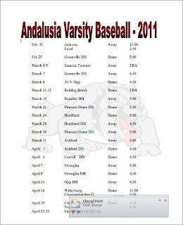 Sports basketball baseball hockey nascar baseball for Baseball schedule template free