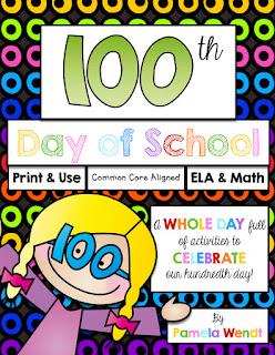 https://www.teacherspayteachers.com/Product/100th-Day-of-School-ELA-Math-Printables-Activities-CCSS-Grade-3-1677222