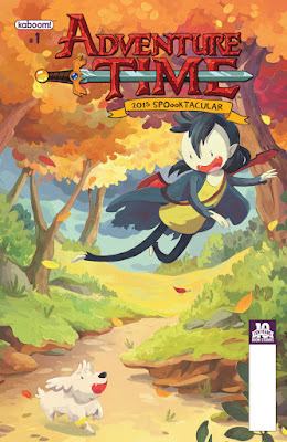 Cover of Adventure Time 2015 Spooktacular #1, courtesy of BOOM! Studios