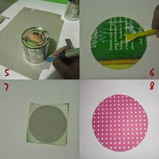 Membuat Laci Mini dari sisa Kardus dan Kaleng Susu 5