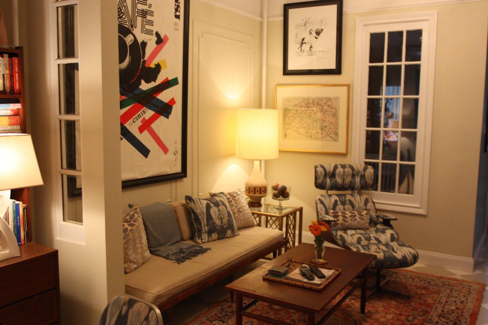 After-Dinner Design: And what about the living room wall color?!