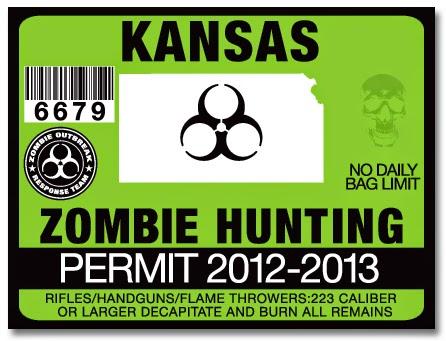 Zombie Preparedness Month