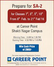 sa-2 workshop @ career point