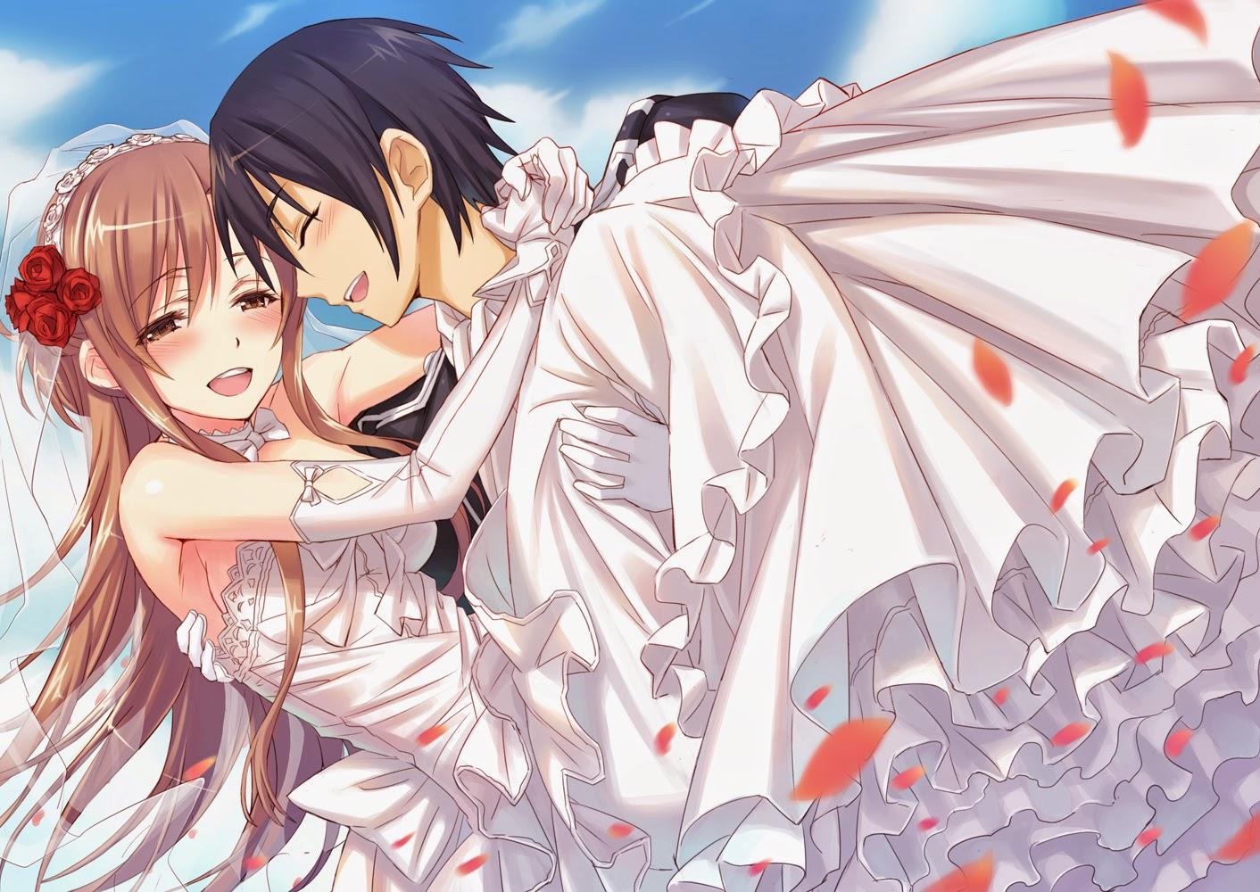 Gambar Animasi Jepang Yang Romantis