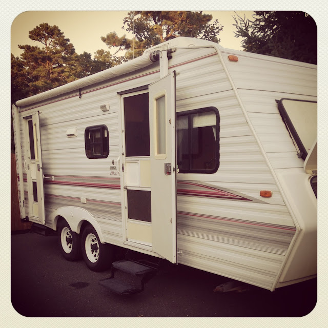 Beautiful Vintage Camper Redo Glamper  Camping And Campers  Pinterest