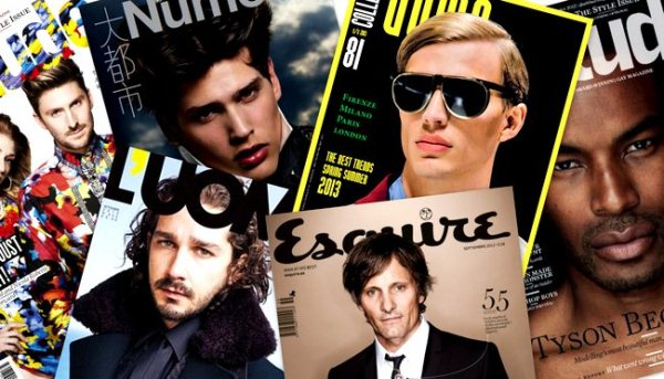 Men's Fashion Magazines Issues