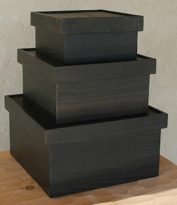 nesting wood boxes
