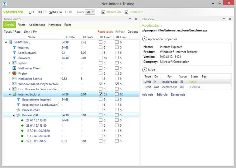 NetLimiter 4 Full Version