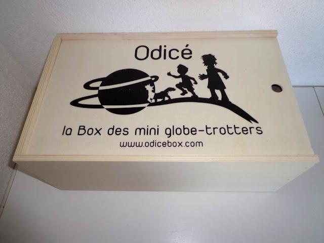 Ma Odicé Box: La box des mini globe-trotters thème Russie