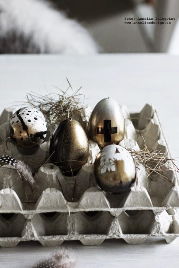 äggkartong, äggkartonger, ägg, påskägg, påsk 2015, diy, göra själv, påskpyssla, påskpyssel 2015, egg, eggs, fjäder, fjädrar, inredningsblogg, inredning, inreda