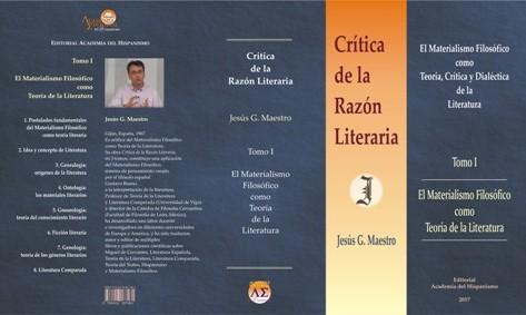 Crítica de la Razón Literaria · Tomo 1