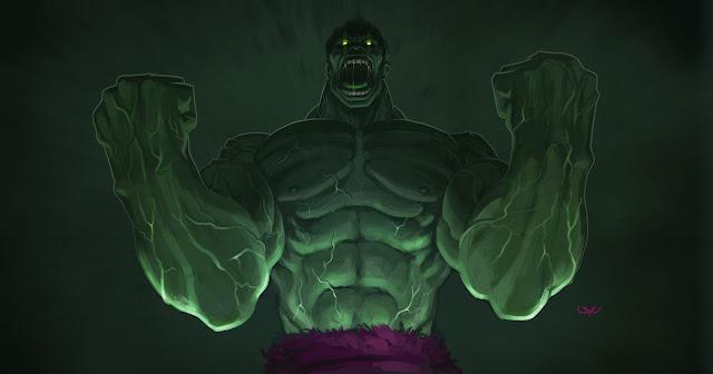 -- Hulk -- por wyv1
