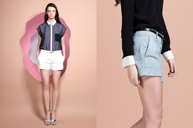 Club Monaco Lookbook. Shorts 2013