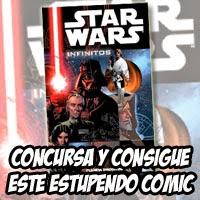 """Cartel concurso """"Omnibus Star Wars: Infinitos"""""""