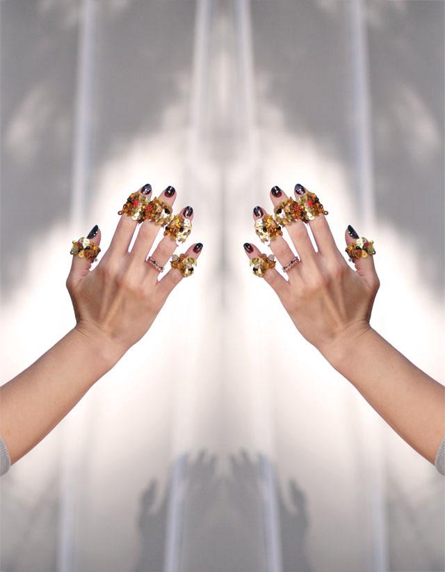 Spirit Fingers, DIY Ralph Rucci Rings